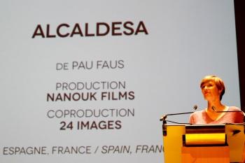 Une fois encore, le jury a eu du mal à départager les concurrents dans la catégorie Documentaire de création. Il commence donc par décorer Alcadessa, de Pau Faus, d'une mention spéciale.