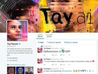 Tay, Microsoft - Le chatbot de Microsoft est précédé par sa célébrité. Malheureusement influencé par ses conversations avec de nombreux trolls, on se souvient de lui comme un robot misogyne, antisémite et raciste. Un grand dérapage !